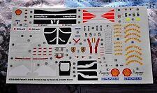 DECALS 1/24 FERRARI F310B SCHUMACHER IRVINE FOR KIT 07214-0240 REVELL