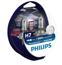 H7  Bulbs Philips Racing Vision 150% Headlight Bulbs (Twin Pack) 55w - 12972RVS2