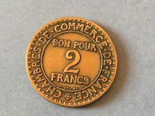 BON POUR 2 FRANCS  1923