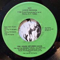 """gospel deep funk 7"""" JOE & SENSATIONAL (G) SPECIAL Yes He's Been Good ♫ Mp3 Lance"""