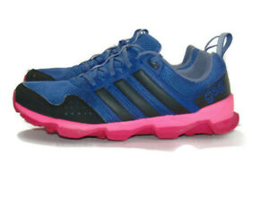 Adidas Sneakers Blue Black Pink Red GSG Trail Running Womens 9 af6737