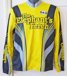 Men's Cycling Jacket - The Elephant's Perch- Size Large