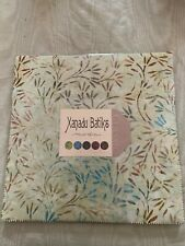 Xanadu Moda Fabrics Batik 100% Cotton Jelly Roll, Layer Cake New