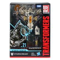 New Transformers Hasbro Starscream Cybertron Studio Series 21 Action Figure SS21