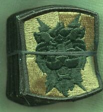 Lot of 20 US Army 35th Signal Brigade OD Subdued Patch