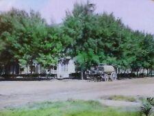 Wagon, Blue Ash, Dr. J.H. Hurley Residence, California,Magic Lantern Glass Slide