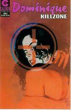 Dominique: Kill Zone # 1 (one-shot, Caliber, USA,1994)