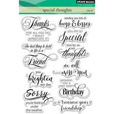Penny Black T for Transparent Clear Stamp Set Special Thoughts