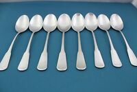 8 Soup Spoons ONEIDA COLONIAL BOSTON Minute Man SSS Stainless 6 3/4""
