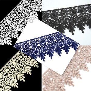 SPITZE, Spitzenborte, Gipüre, Breite-70 mm, *549*,weiß, schwarz, blau, creme