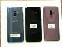 Samsung Galaxy S9+PLUS G965U  64GB  AT&TGSM UNLOCKED Blue Purple Black shadow