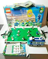 LEGO 3409 3411 Soccer Championship Challenge Box & Instructions Minifigures