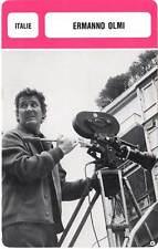 FICHE CINEMA :  ERMANNO OLMI -  Italie (Biographie/Filmographie)