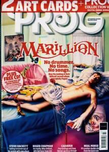 PROG MAGAZINE + CD + GIFTS,  SEPTEMBER 2021 (MARILLION, STEVE HACKETT, CARAVAN)