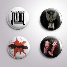 4 GENE LOVES JEZEBEL - Pinbacks Badge Button Pin 25mm 1''