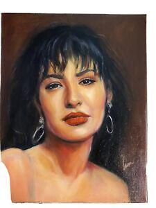 Celebrities, Original Portrait Of Selena Signed By Artist , No Frame 11x14