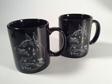 ( 2 ) Doberman Pincher, Coffee Mugs, Vintage, Dog, Pet,