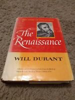 The Story Of Civilization V: The Renaissance by Will Durant HCDJ