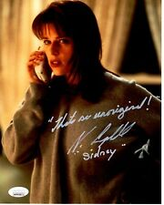 NEVE CAMPBELL signed 8x10 Photo SCREAM Sidney Prescott Horror JSA Witness