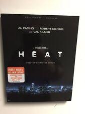 Heat (Blu-ray Disc, 2017, Directors Definitive Edition) NEW w/slipcover