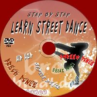 Learn How To Baile Urbano Breakdance Hiphop Easy Paso por Beginners Vídeo DVD