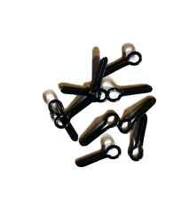 10 New Black Hook Keepers: For Rod Building And Repair.