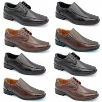 MENS SMART WEDDING SHOES ITALIAN FORMAL OFFICE WORK  SNT. LEATHER BOOTS SIZE