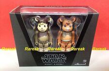 Be@rbrick 2014 Star Wars Wicket & Romba 100% bearbrick Twin boxset 2pcs