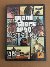 Grand Theft Auto San Andreas First 1st Edition PC New