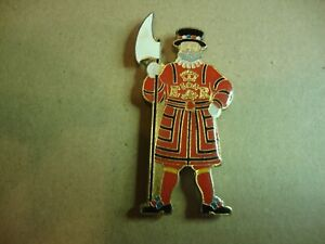 Beefeater metal fridge magnet