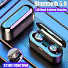 Bluetooth 5.0 Headset TWS Wireless Earphones Mini Earbuds Stereo Headphones 2020