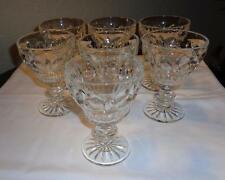 "Vintage Goblets ""7 Heavy Tapered Stems"""