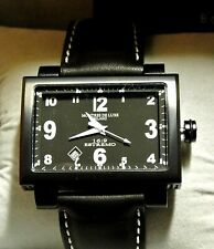 Montres De Luxe Milano Unisex 16:9 Estremo Double Material Case Watch with Date