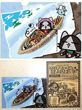 Monster Hunter AIROU Clear File Winter Sports Felyne Poogie A5 Size CAPCOM New