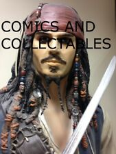 Life Size JACK SPARROW Resin Figure. Amazing Piece. FREE UK DELIVERY.