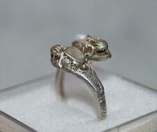 Art deco Schlangenring  -  Silber 925  (# 7025)