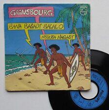 "Vinyle 45T Serge Gainsbourg ""Bana basadi balalo"""