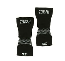 Zensah Foot Compression Sleeve in Black 0415 Size S