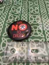 Say No To Drugs Metro Toronto Police Pinback Button FREE SHIPPING
