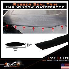 Rubber Seal Trim Weatherstrip Windshield Sunroof Guard Strip Accessories 144