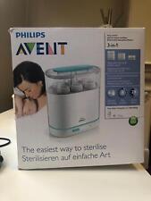 Philips Avent Steamer/Blender and 3-in-1 Electirc Steriliser