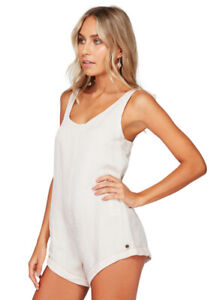BRAND NEW + TAG BILLABONG WOMENS LADIES SIZE 8 KAUAI PLAYSUIT WHISPER