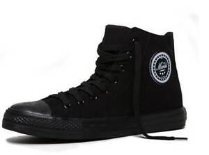 Sneaker Größe 43  Merish High-Top Sneaker schwarz , Modell 64  (PAAR)
