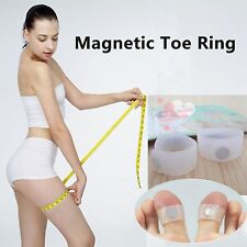 Soft Silicone Magnetic Toe Rings Keep Slim Fitness Weight Loss Diet slimming UK