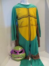 Teenage Mutant Ninja Turtle Boys Costume and Mask  Size 7-10