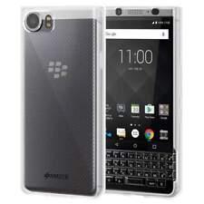 Amzer Clear Hybrid Tpu Bumper Soft Back Phone Cover Case for Blackberry Keyone