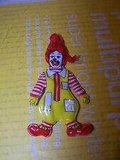 Vintage 1984 McDonald's RONALD MCDONALD Plastic Ronald Toy Advertising