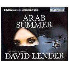 Sasha Del Mira: Arab Summer  by David Lender (2013, 7 CD's, Unabridged)