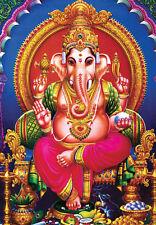 Ganesha Ganesh Ganapati Vighneshvara Hindu 1 Piece Glossy Poster Art Print!