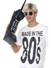 La vendita Divertente 80s GONFIABILE Retro cellulare Costume Festa Accessorio